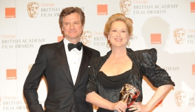 With actor Colin Firth