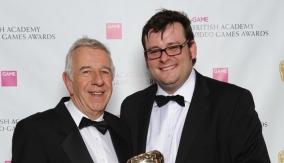 With presenter Geoff Heath OBE