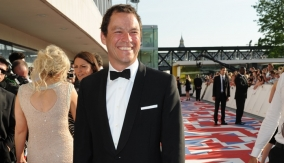 Dominic West on the BAFTA Red Carpet
