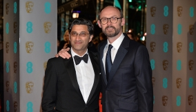 Asif Kapadia and James Gay-Rees on the red carpet