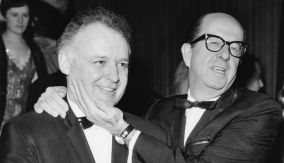Rod Steiger and Phil Silvers