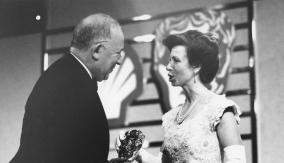 With HRH The Princess Royal