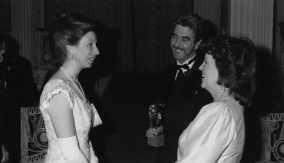 With The Princess Royal