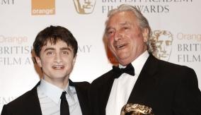 Wilkinson with Daniel Radcliffe