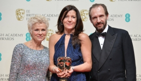 With Julie Walters and Ralph Fiennes
