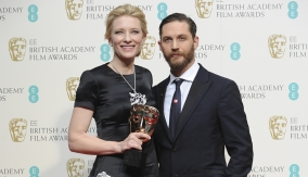 Cate Blanchett with Tom Hardy