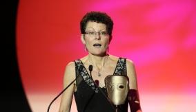 Kay Benbow at the Podium