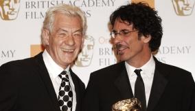 Ian McKellen with Joel Coen