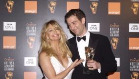 With presenter Goldie Hawn