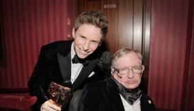 Redmayne and Stephen Hawking