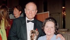 Sydney Samuelson & wife Doris