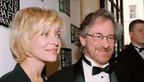 With actress Kate Capshaw