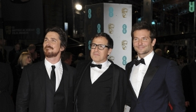 David O. Russell on the Red Carpet