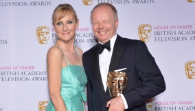 With Lesley Sharp