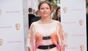 Jessica Hynes on the red carpet