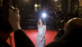 Keira Knightley on the Red Carpet