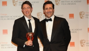 Peter Straughan with John Hamm