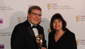 Barry Caudill with Barbara Follett